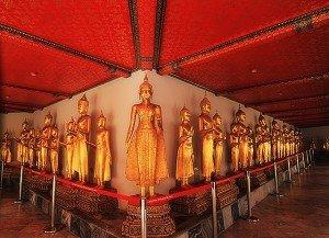 Statue del Wat Pho