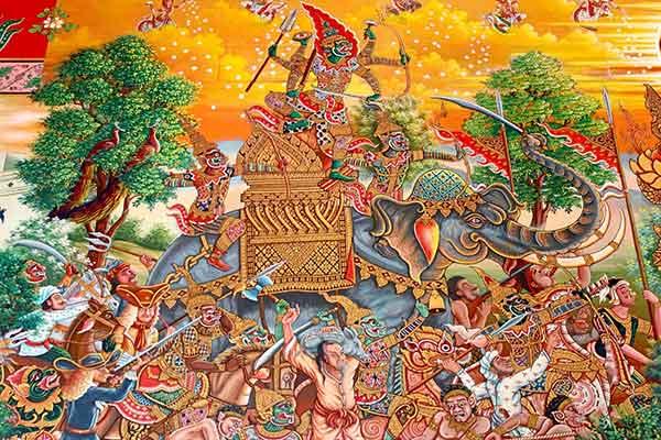 Pittura Tradizionale Thailandese